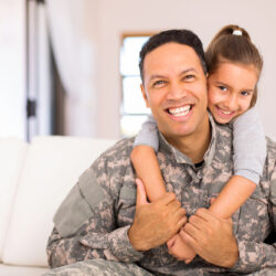 Smiling-Military-Family